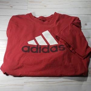 Adidas Print Tee XXL Faded & Distressed